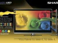 TV Sharp Aquos Quattron