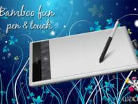 La nuova tavoletta grafica Bamboo fun pen & touch