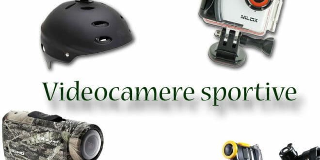 Videocamere sportive