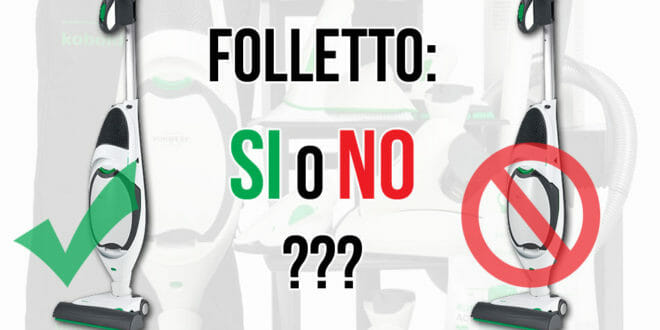 Vorwerk: il Folletto VK150