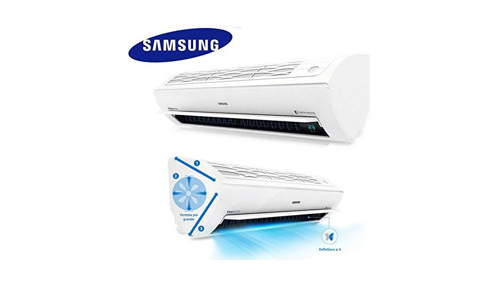 Climatizzatori samsung da parete modelli prezzi come - Condizionatore unita esterna piccola ...