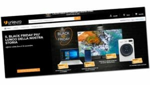 Black Friday di Unieuro