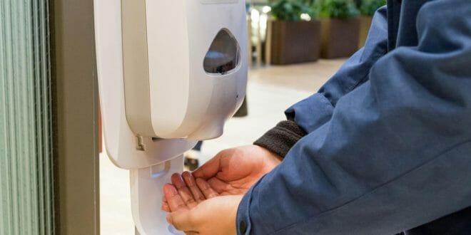 Dispenser automatico gel sapone