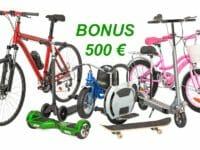 bonus bici 500 euro