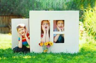 Casetta da giardino per bambini