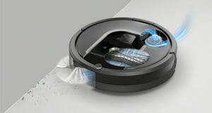 iRobot Roomba: sistema aspirazione