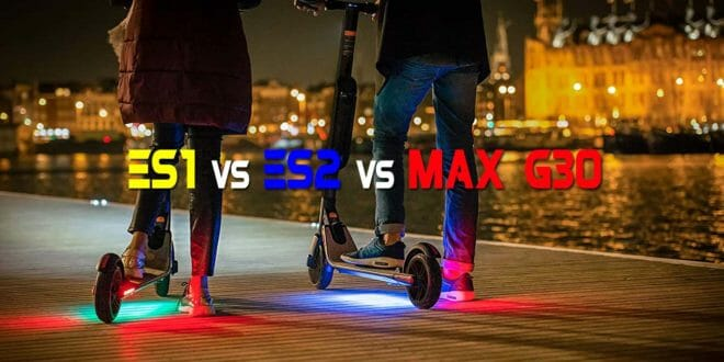 Ninebot by Segway confronto