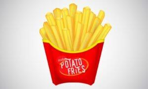 Patatine fritte - friggitrice rotante