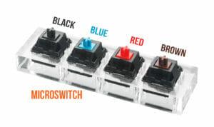 MX Cherry microswitch
