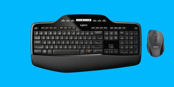 Logitech Cordless Desktop: mouse e tastiera senza fili