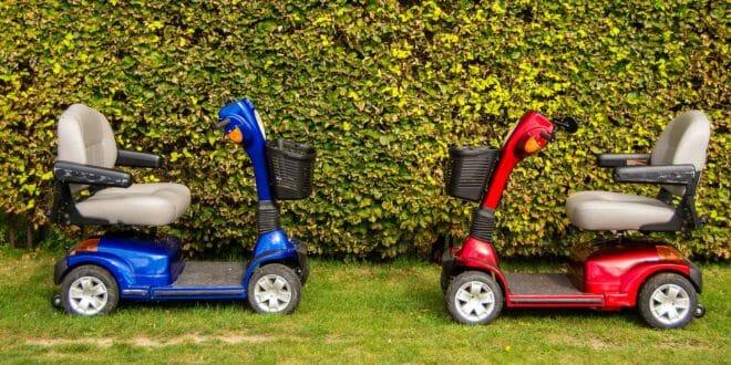 Scooter elettrico anziani disabili