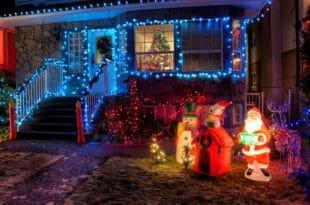 Figure di Natale luminose