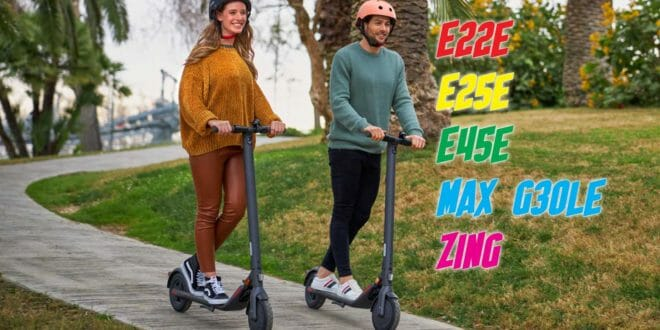 Ninebot by Segway - confronto