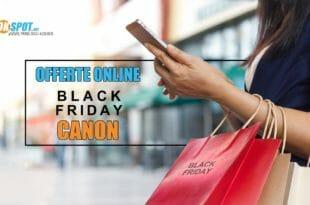 Black Friday fotocamere Canon