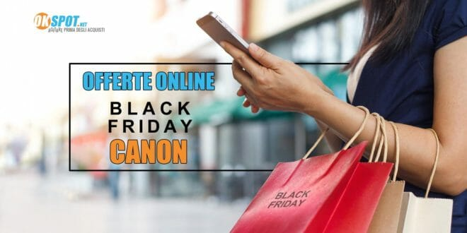 Black Friday fotocamere Canon