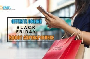 Black Friday Robot Aspirapolvere