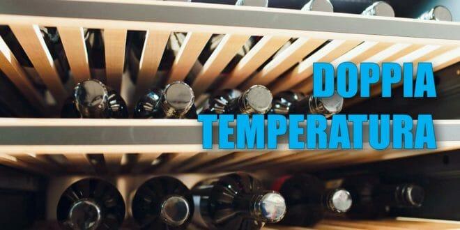 Cantinetta vino doppia temperatura