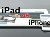 ipad vs iphone
